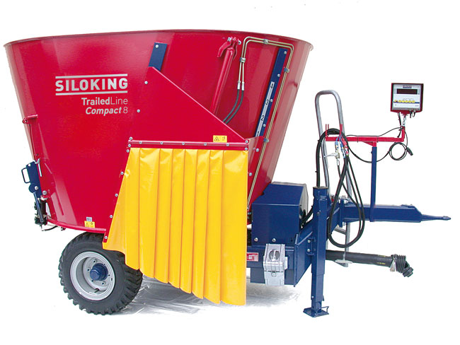 SILOKING TrailedLine Classic Compact Trailed TMR feed mixer