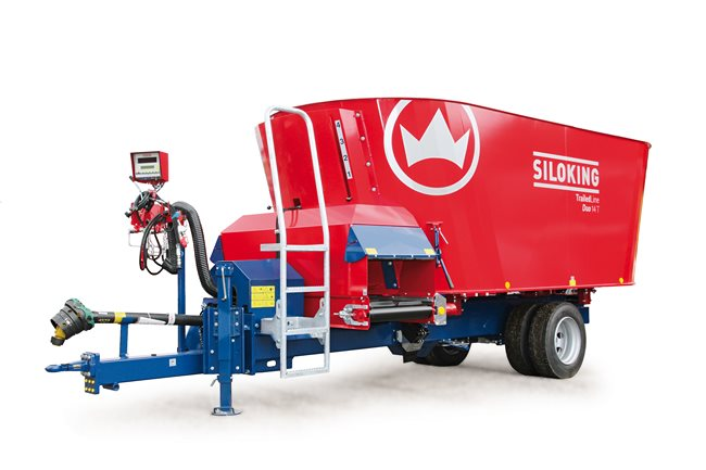 SILOKING TrailedLine Classic Duo Trailed TMR feed mixer