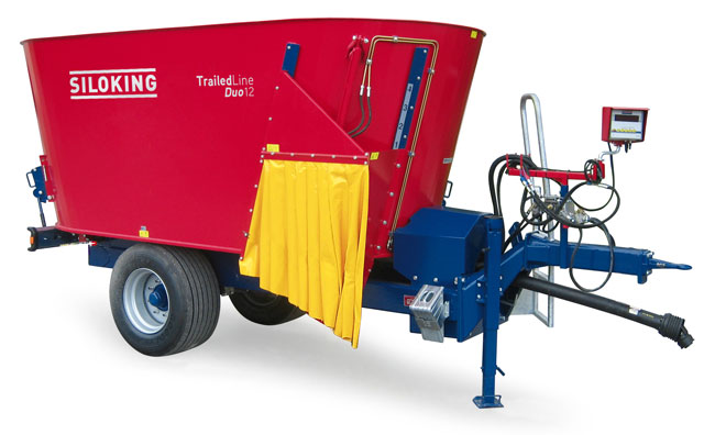 SILOKING TrailedLine Duo Trailed TMR feed mixer