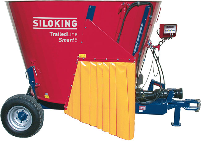 SILOKING TrailedLine Classic Smart Trailed TMR feed mixer